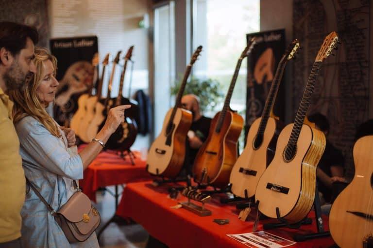 Le Salon International de la Guitare s'installe ce week-end à l'Hôtel de Région