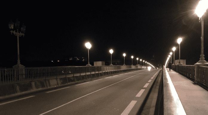 Le Pont Saint-Pierre lors du couvre-feu / Léo Molinié
