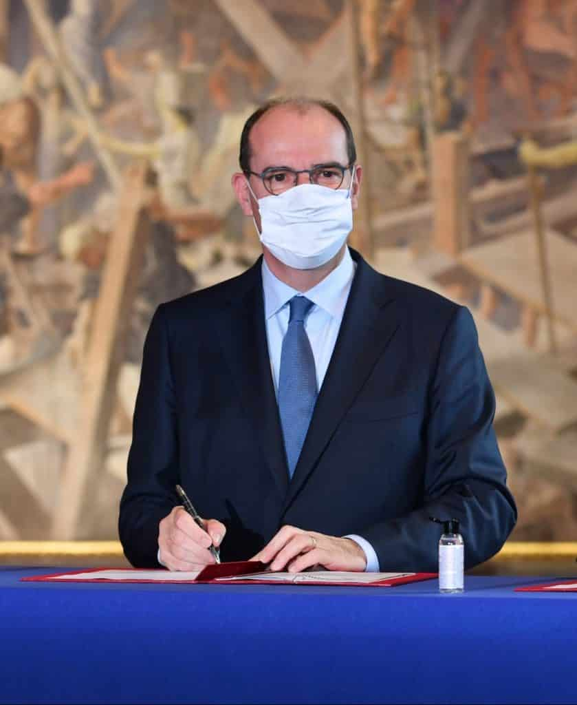Jean Castex annonce l'annulation de tous les déplacements officiels sur le territoire en raison de la situatin de la crise sanitaire liée au Covid-19 ©Twitter/ Mairie de Toulouse