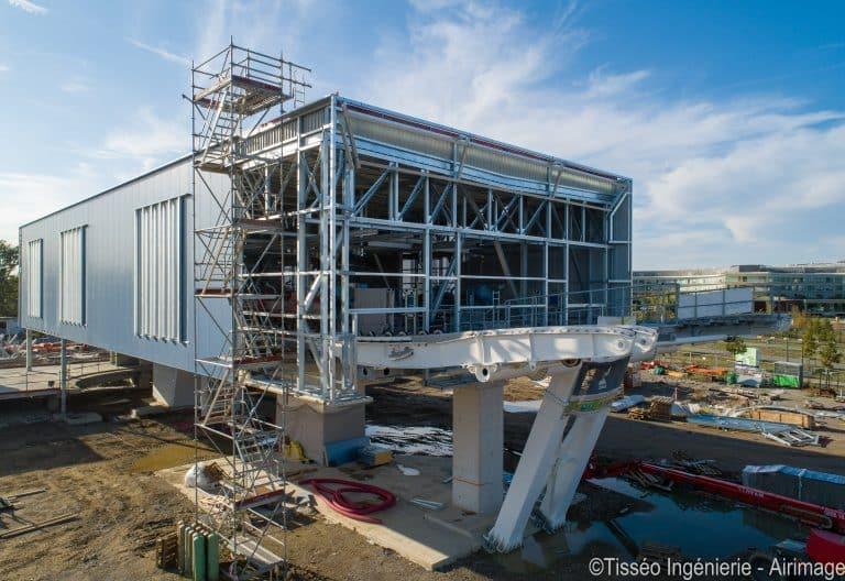 À Toulouse, le chantier du téléphérique urbain Téléo avance à grands pas