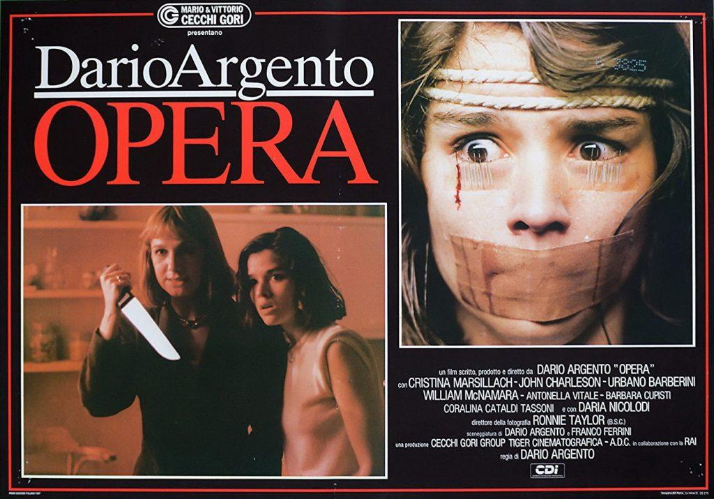 Terreur à l'opéra de Dario Argento