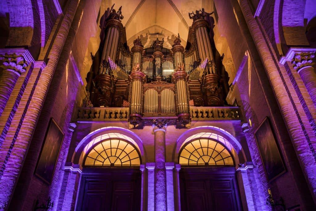 orgue basilique Saint Sernin Toulouse