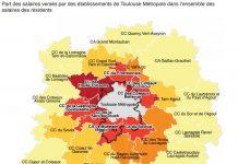 Salaires Toulouse métropole
