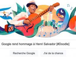 Doodle Henri Salvador