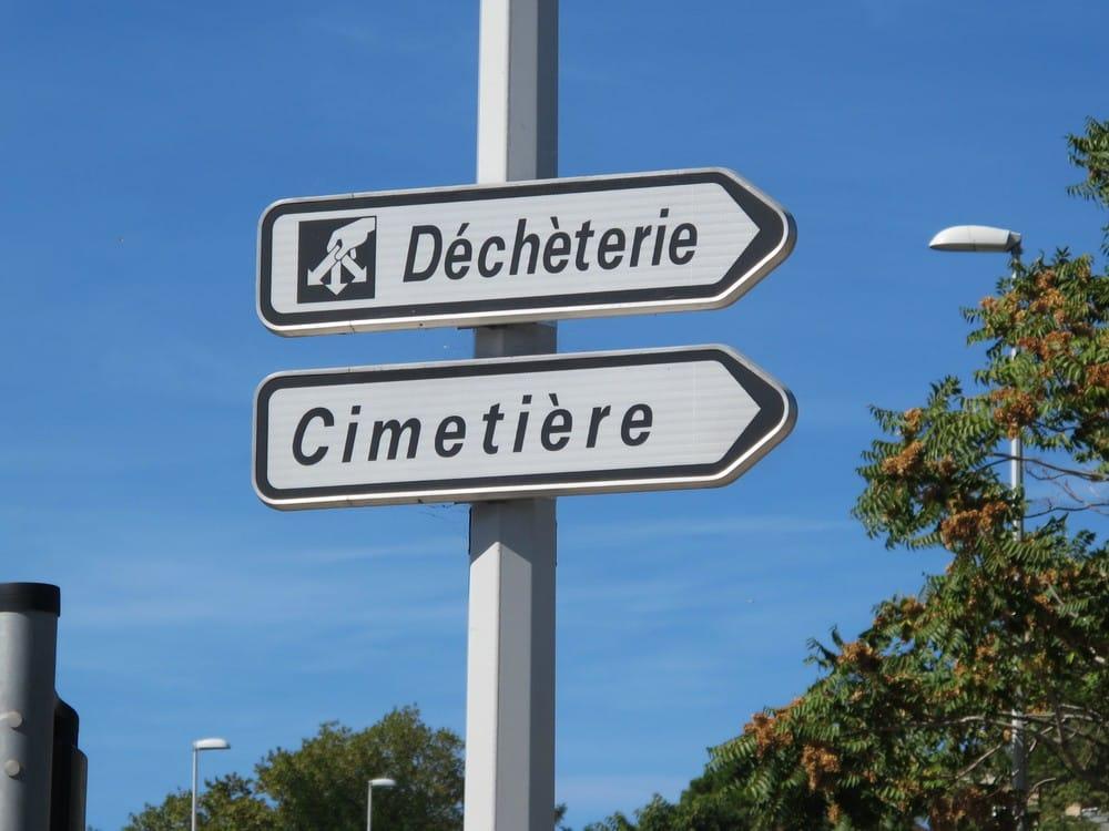 Déchetterie_cimetière services publics Toulouse