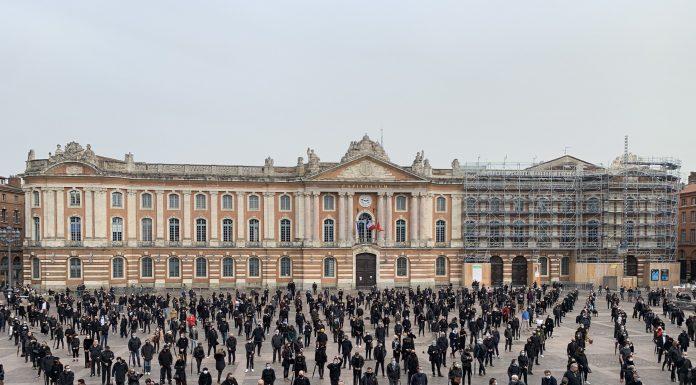 Manifestation Place du Capitole / Marie Bégué