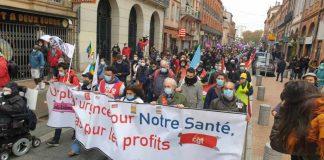 Manifestation à Saint-Cyprien / Nicolas Belaubre