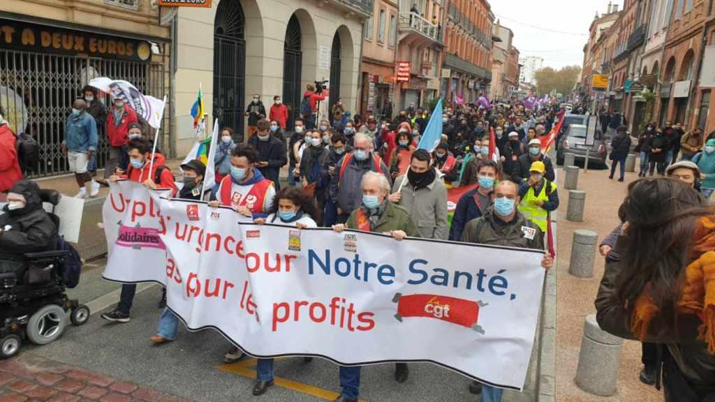 Manifestation Covid-19 Toulouse