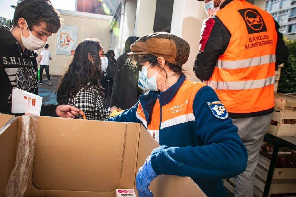 La protection civile au secours des étudiants de Toulouse ©ProtectionCivileHauteGaronne