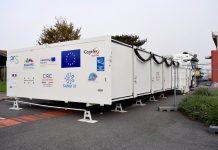 Le CHU de Toulouse inaugure ce lundi 9 novembre le premier hôpital mobile européen, destiné aux malades de la Covid-19 ©CHU de Toulouse