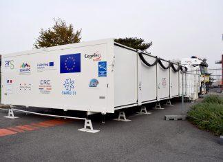 Covid-19 : il est possible de se faire vacciner sur le Tour de France, ce jeudi, à NîmesLe CHU de Toulouse inaugure ce lundi 9 novembre le premier hôpital mobile européen, destiné aux malades de la Covid-19 ©CHU de Toulouse