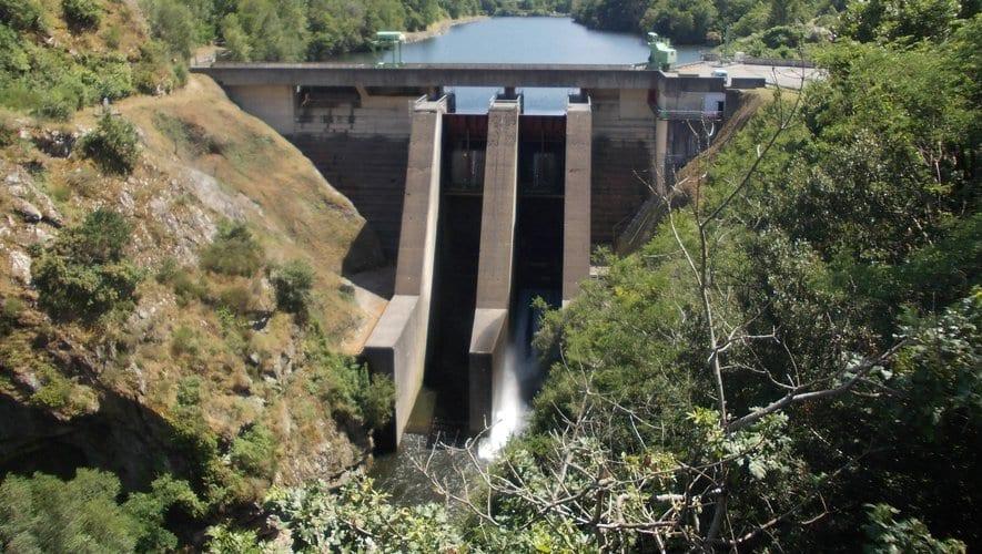 Le barrage de Garrabet, au Sud de Foix, en Ariège est l'objet d'une série de tests réalisée par EDF Hydro ©EDF Hydro