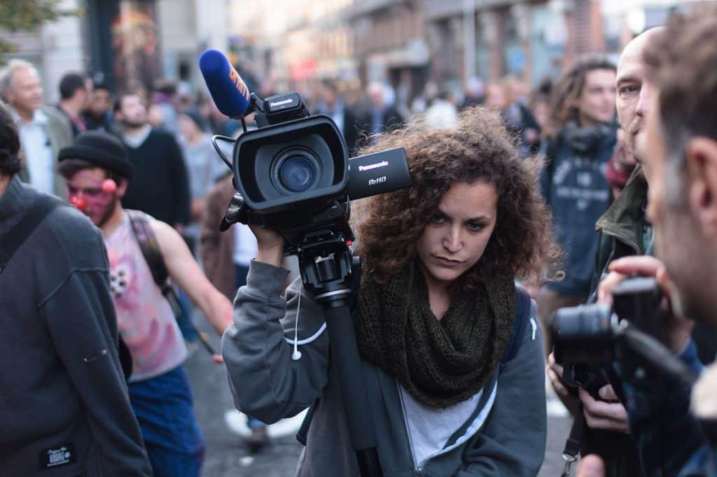 Le club de la presse Occitanie appelle à manifester, ce jeudi 26 novembre, à Toulouse, pour le retrait de la loi Sécurité globale ©Pierre Selim