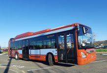 Les 45 nouveaux bus de Tisseo arborent des teintes brique et pastel ©Félix Marchet SoFlash Production Tisséo Collectivités