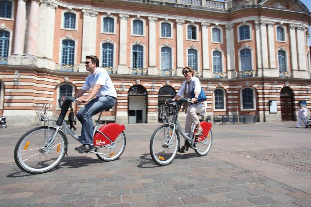 VélôToulouse capitole Toulouse vélo
