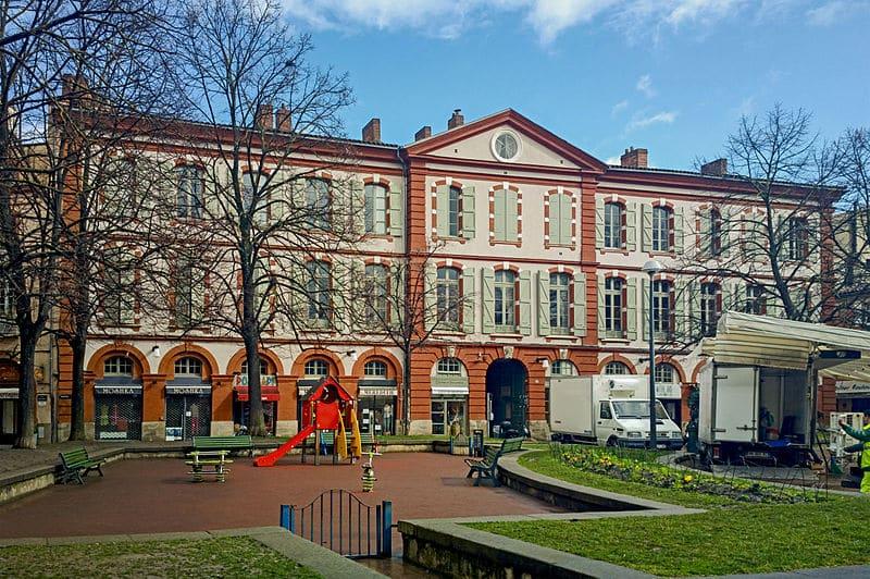 aire de jeu place Saint Georges Toulouse