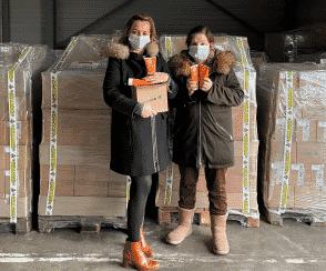Pour Noël, Pharmacie Lafayette fait des dons à ceux qui en ont le plus besoin
