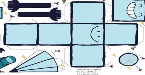 sonde rosetta origami vacances toulouse