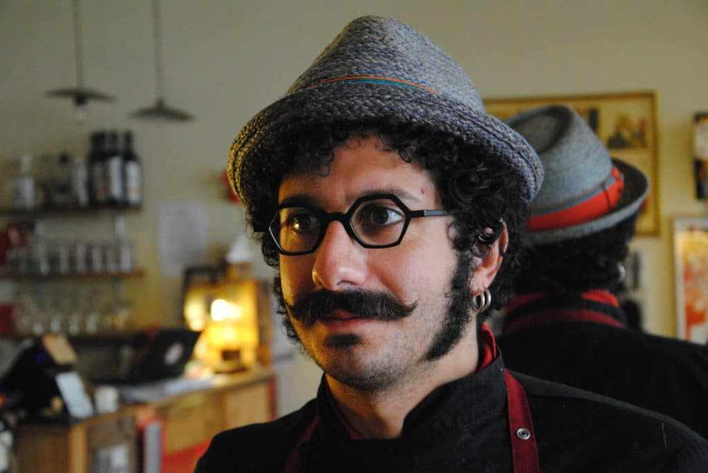 Dossier-truite_chef Philippe Abirached