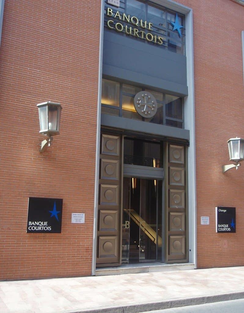 Le siège de la banque Courtois, rue de Rémusat, à Toulouse © CC BY SA-3.0