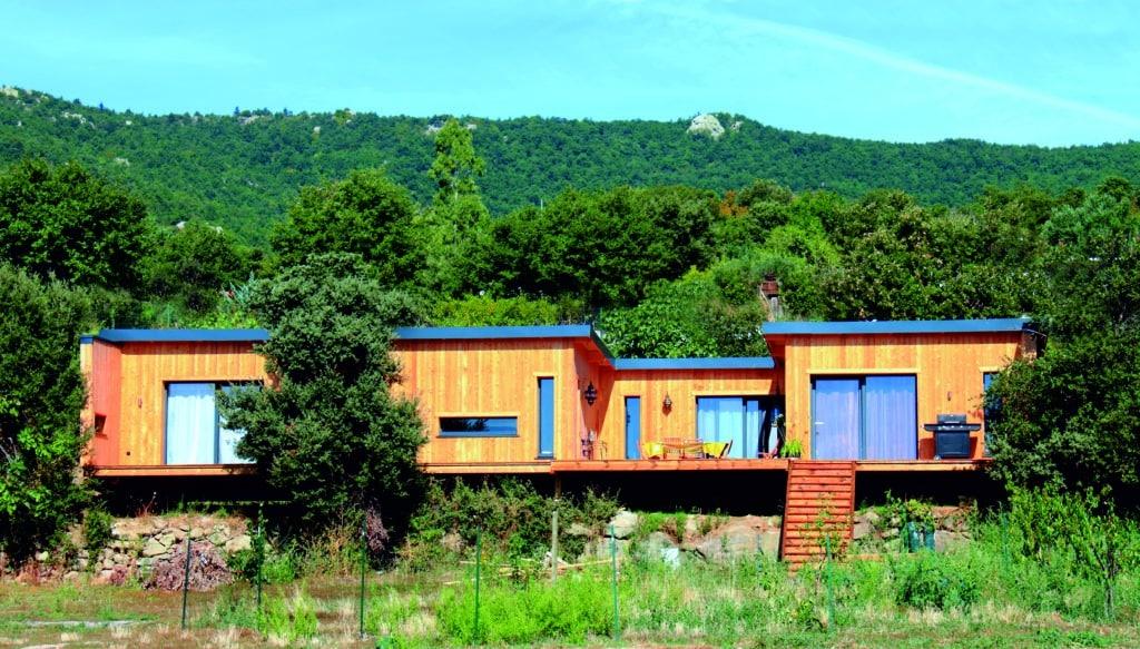 Maison ecolo Canigou