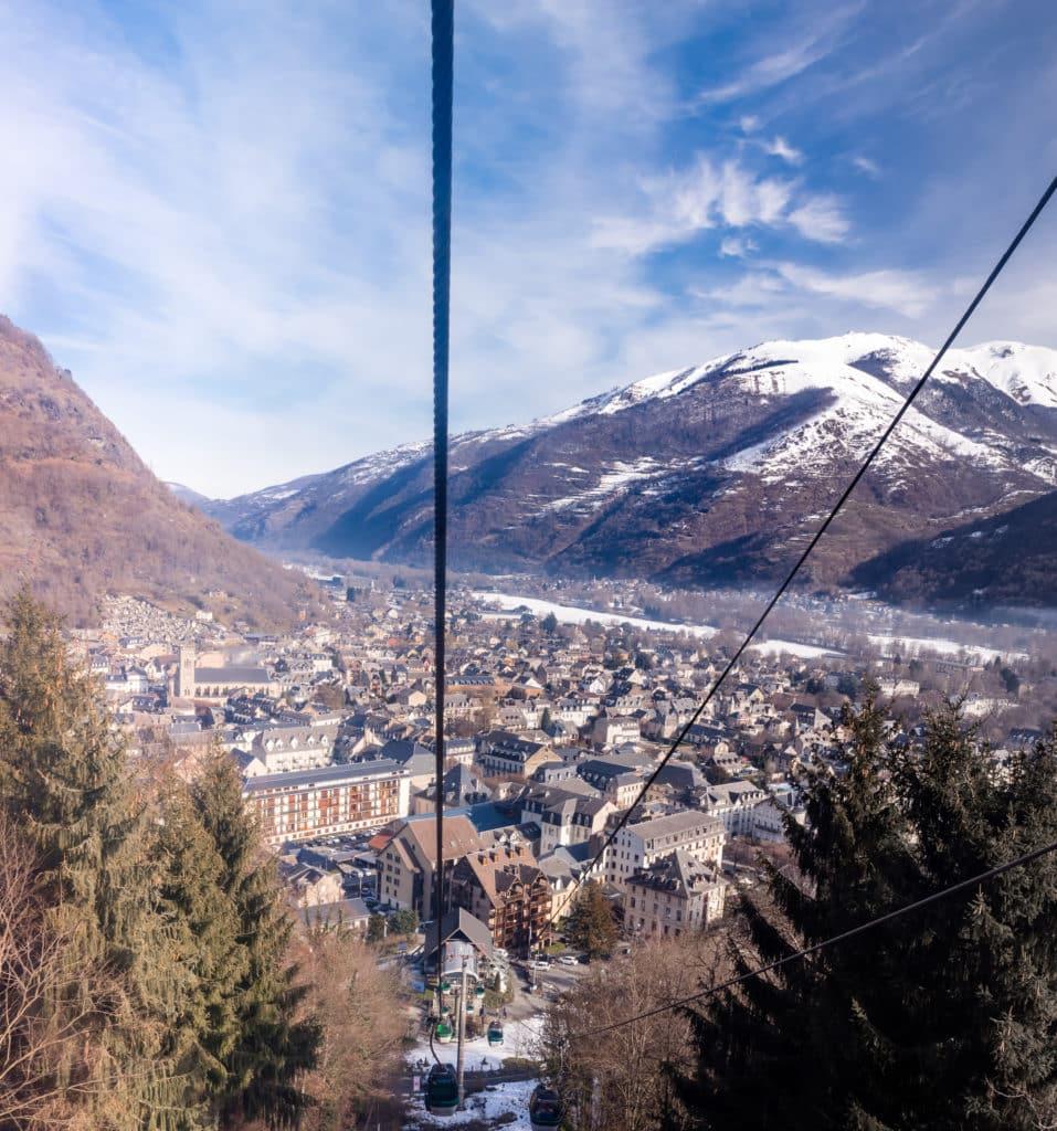station skis Pyrénées