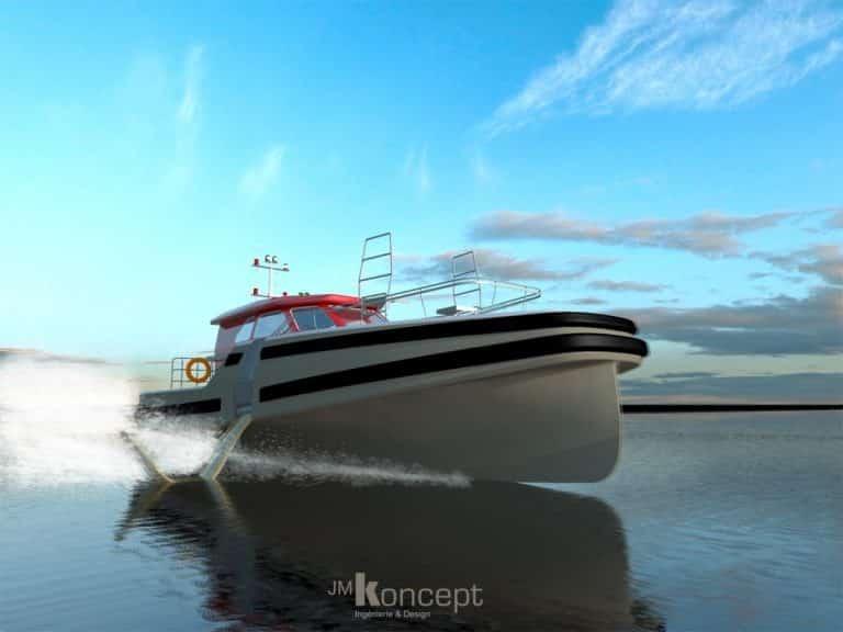 Avec JM Koncept, les bateaux vont bientôt voler, sans polluer !