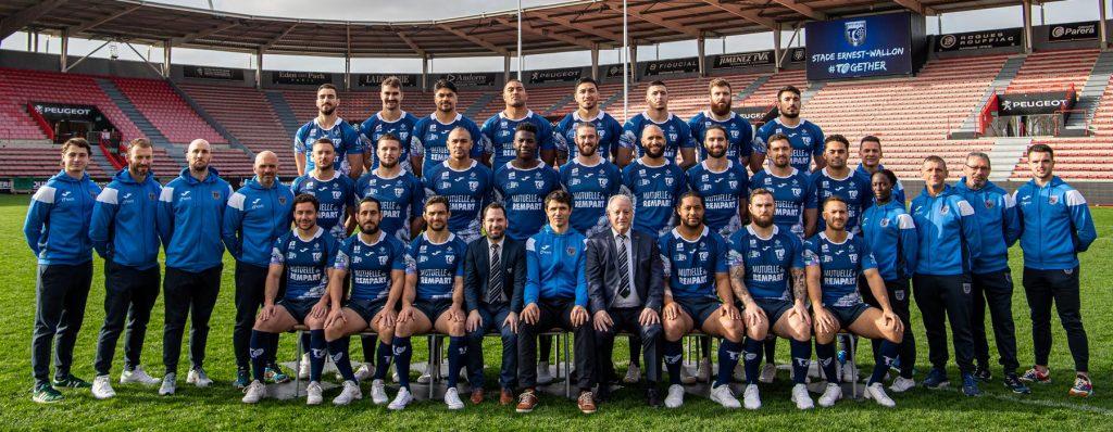 Rugby : L'équipe professionnelle du Toulouse Olympique - TOXIII