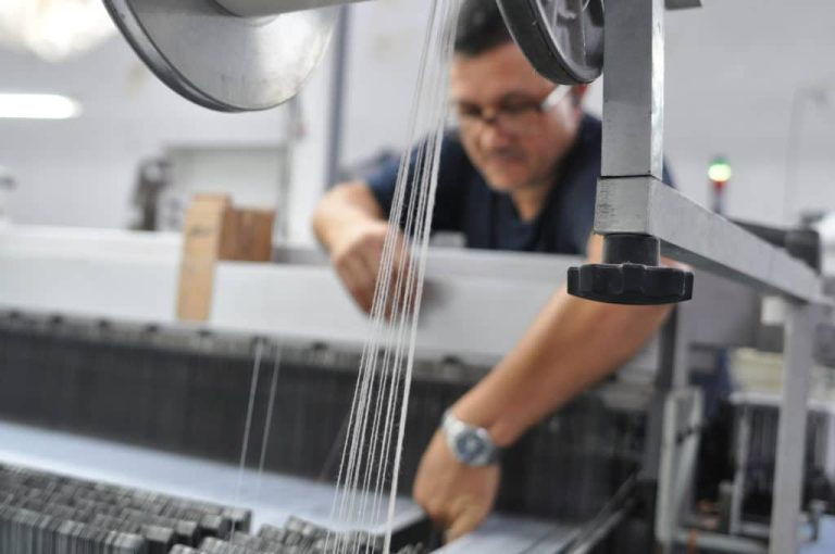 Du coton bio pour un jacquard durable