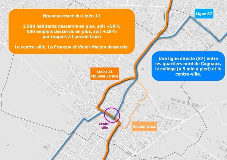 2 500 personnes de plus desservies par le nouveau tracé du Linéo 11 à Cugnaux