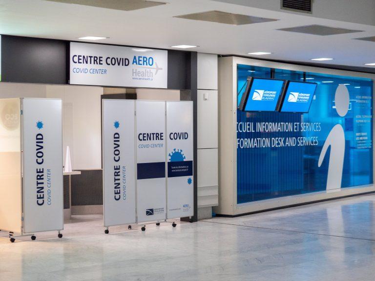 Un centre de tests antigéniques installé à l'aéroport Toulouse Blagnac