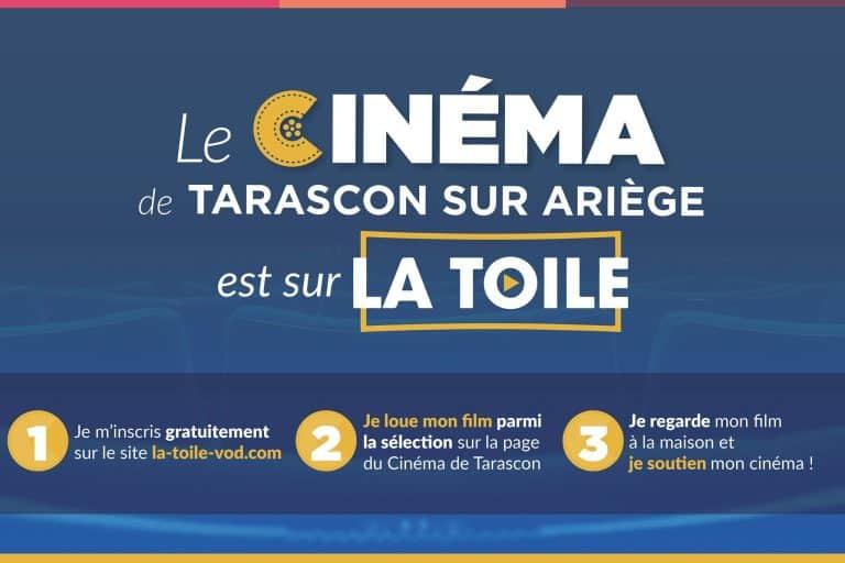 Les films du cinéma de Tarascon-sur-Ariège accessibles depuis votre salon