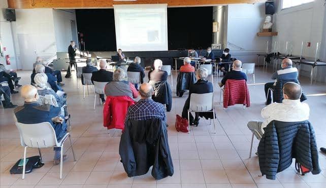 réunion maires-Département Ariège projets fibre