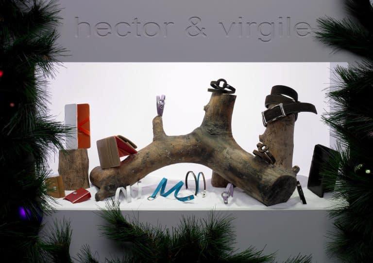 Hector & Virgile, du cuir à la création