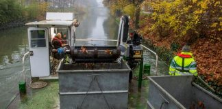 La Midinet recueille 20 tonnes de déchets dans les canaux de toulouse chaque année ©MairieDeToulouse