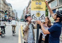 La ligne V1 du Vélopolitain a été inaugurée en juillet dernier à Paris