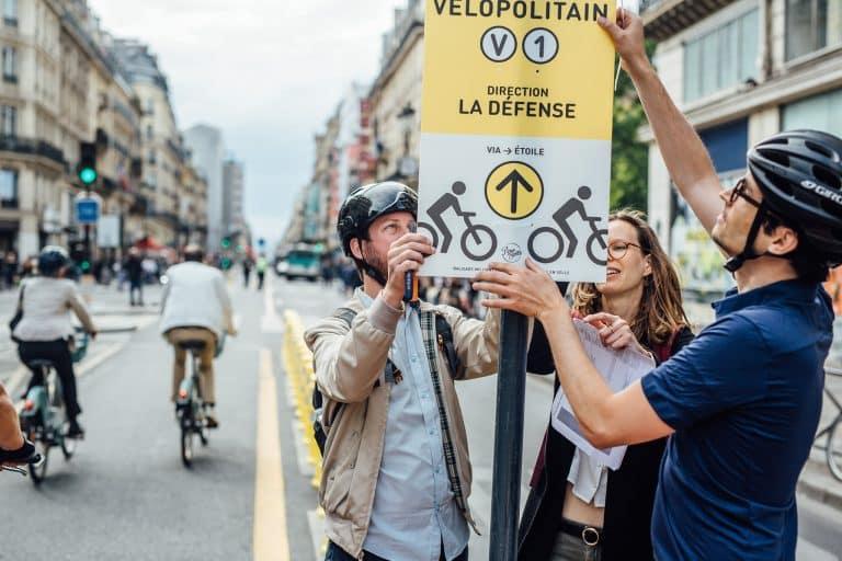 Le Vélopolitain : un réseau cyclable prioritaire dans la capitale