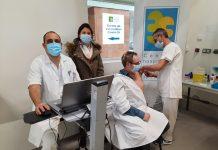 La vaccination anti Covid-19 du personnel du Centre hospitalier intercommunal des vallées de l'Ariège a débuté ©Chiva