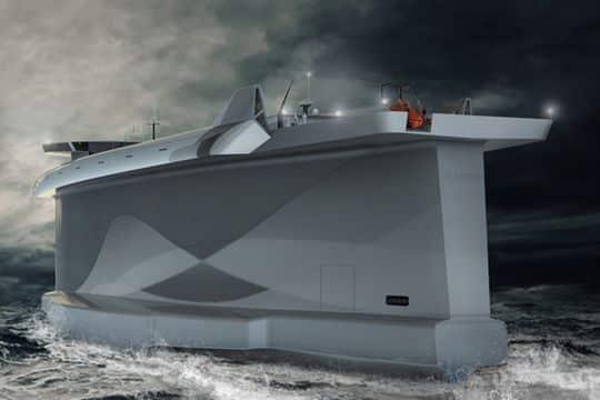 Le Vindskip, le cargo qui se déplace comme un voilier