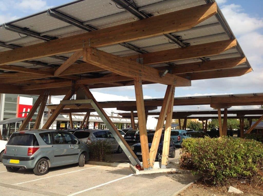 Ombriere photovoltaïque parking Toulouse