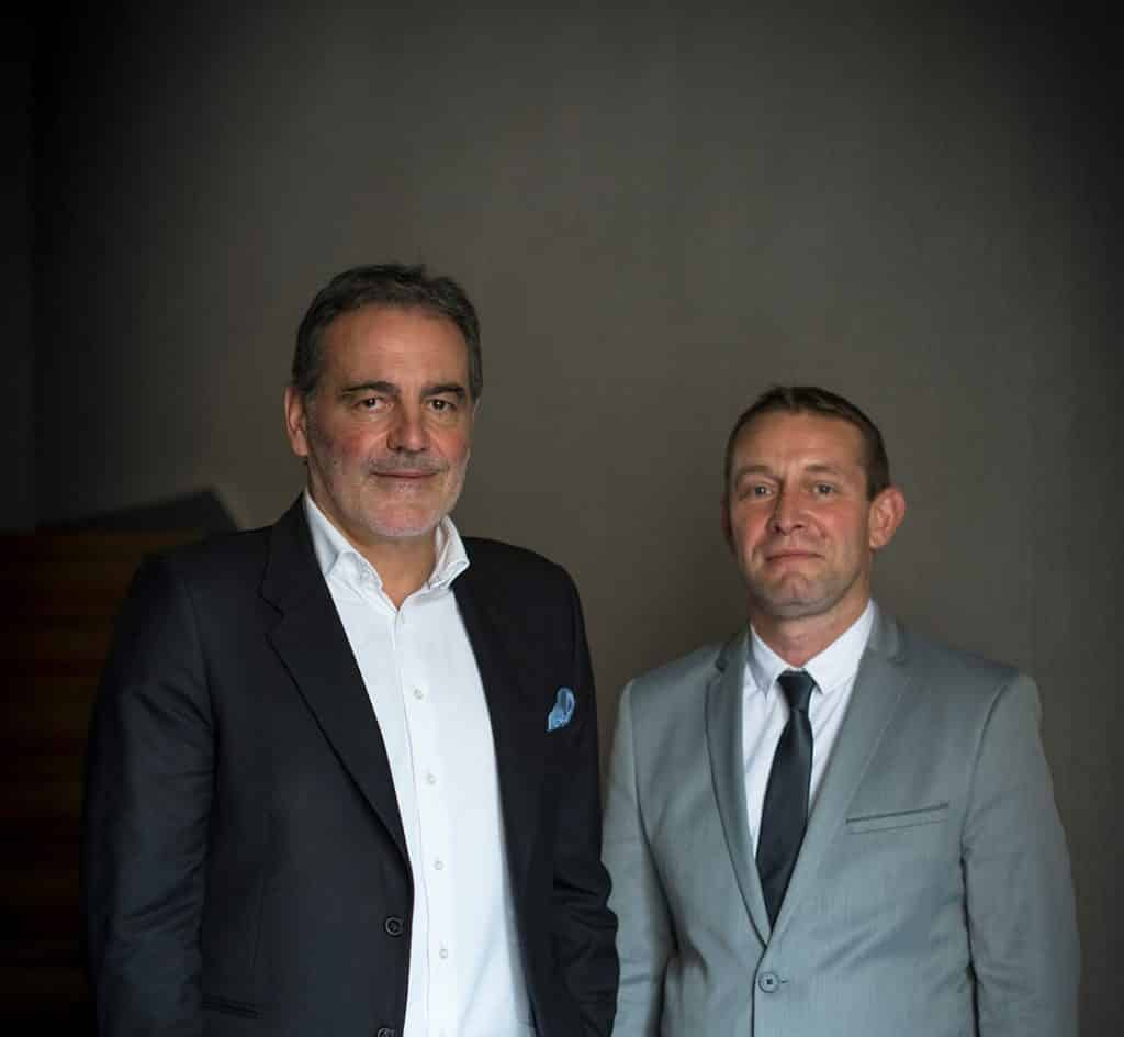 Pierre Dunac et Frédéric Langlois, nouveaux Bâtonnier et Vice-Bâtonnier du barreau de Toulouse ©Ordre des avocats de Toulouse