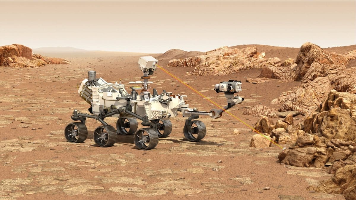 rover perseverance mars 2020