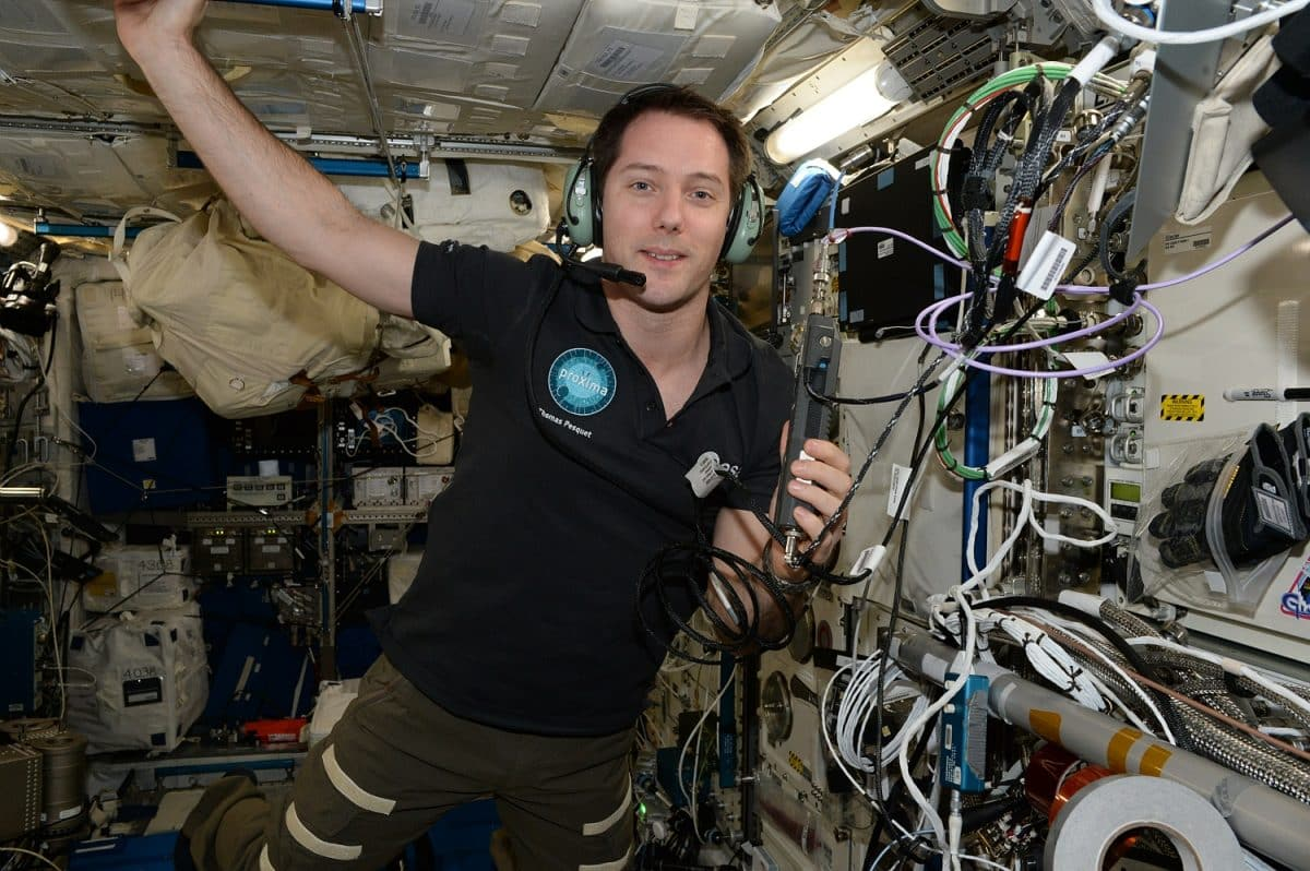 Thomas Pesquet ISS Cnes spatial 2021