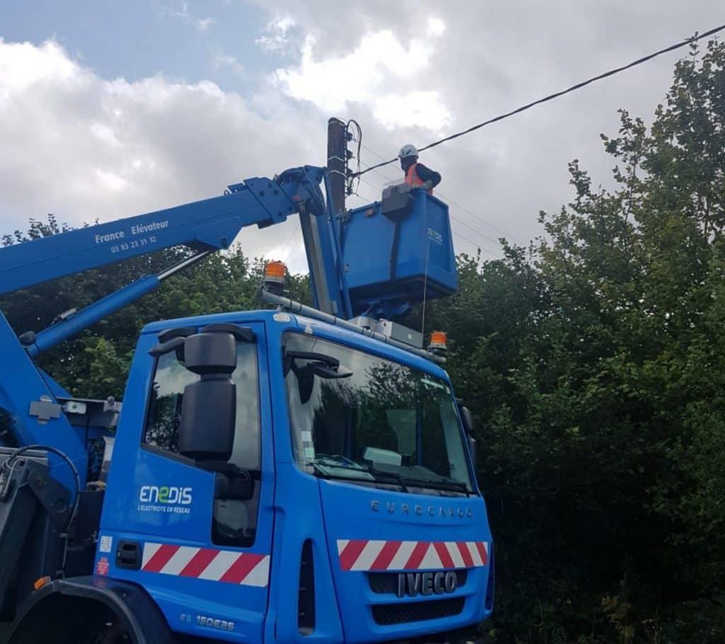 maintenance réseau électricité 2 smart occitania