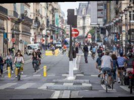 pistes cyclables de transition
