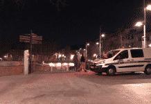 Les quais de la Garonne en train de fermer dans la nuit de samedi à dimanche / Léo Molinié