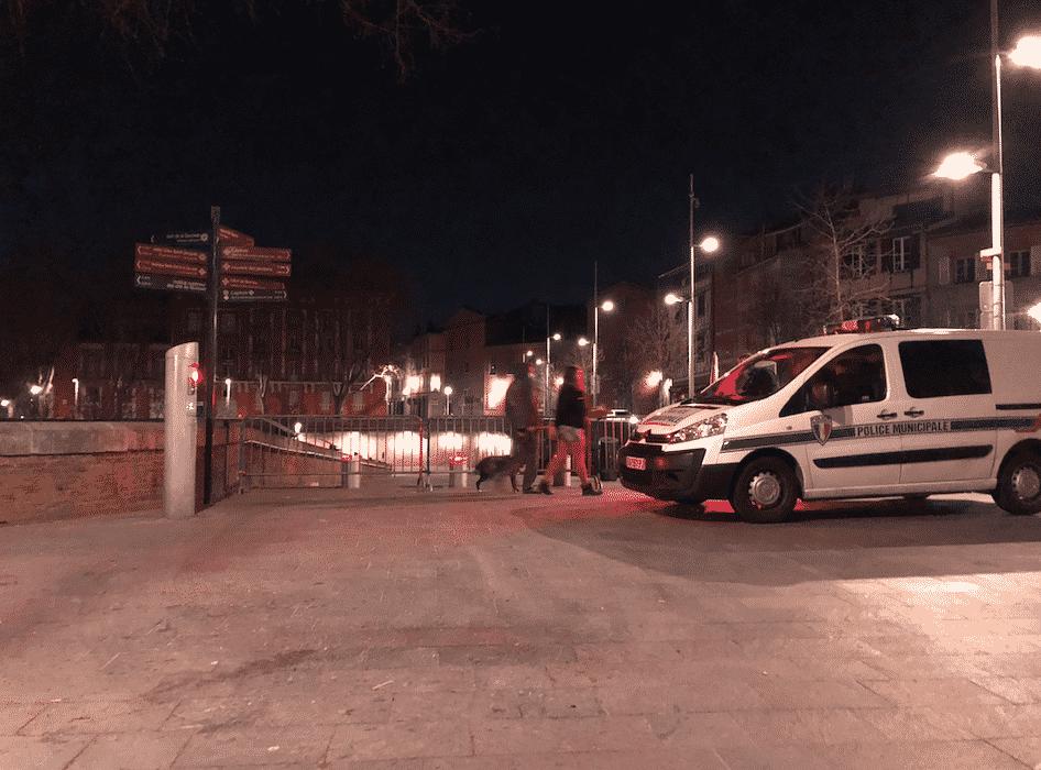 Les forces de l'ordre constatent que de nombreux fêtards ne respectent pas les gestes barrière et le couvre-feu à Toulouse