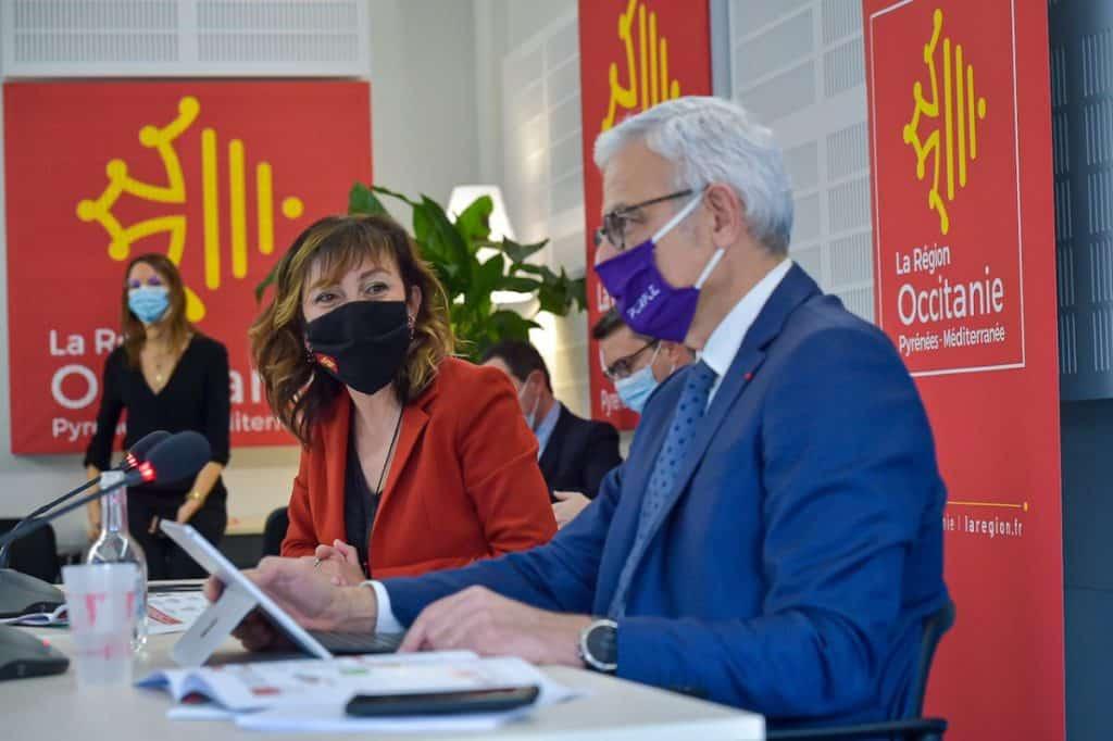 Carole Delga et Alain Di Crescenzo relance occitanie