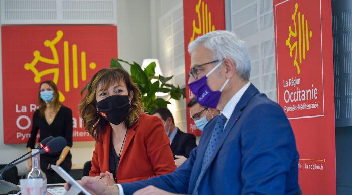 Carole Delga et Alain Di Crescenzo