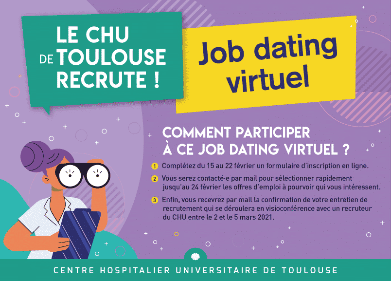Job dating CHU emploi Toulouse
